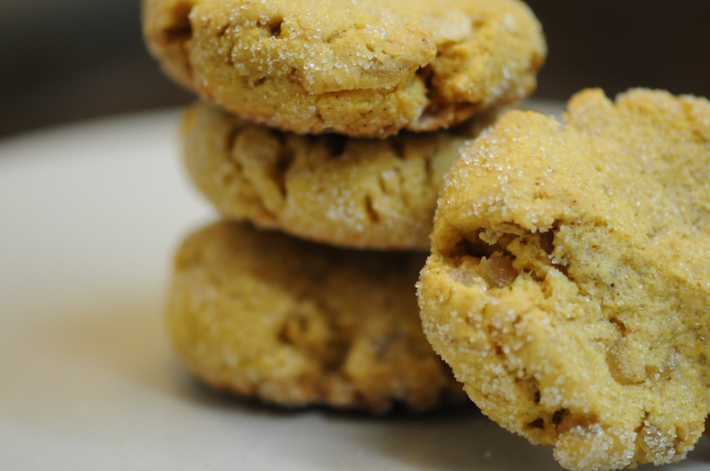 Pumpkin Ginger Cookies - Fried Dandelions