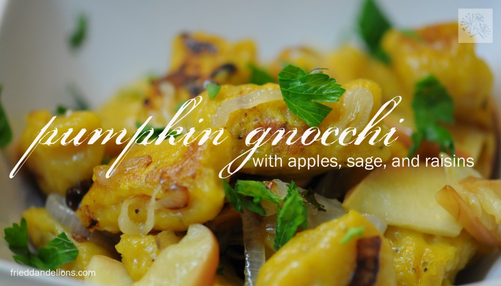 sauce pumpkin gnocchi in a brown butter and sage sauce gnocchi gnocchi ...