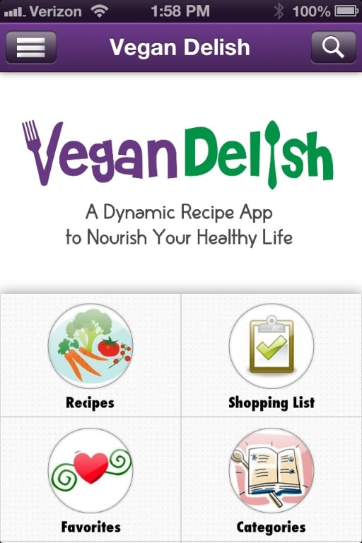 Vegan Delish screenshot