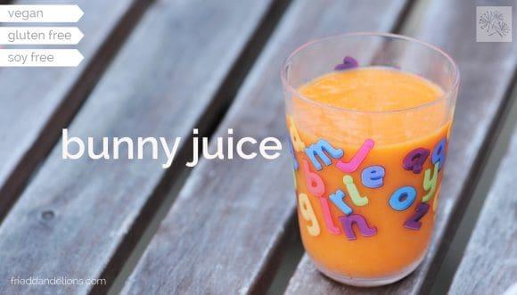 glass of Bunny Juice