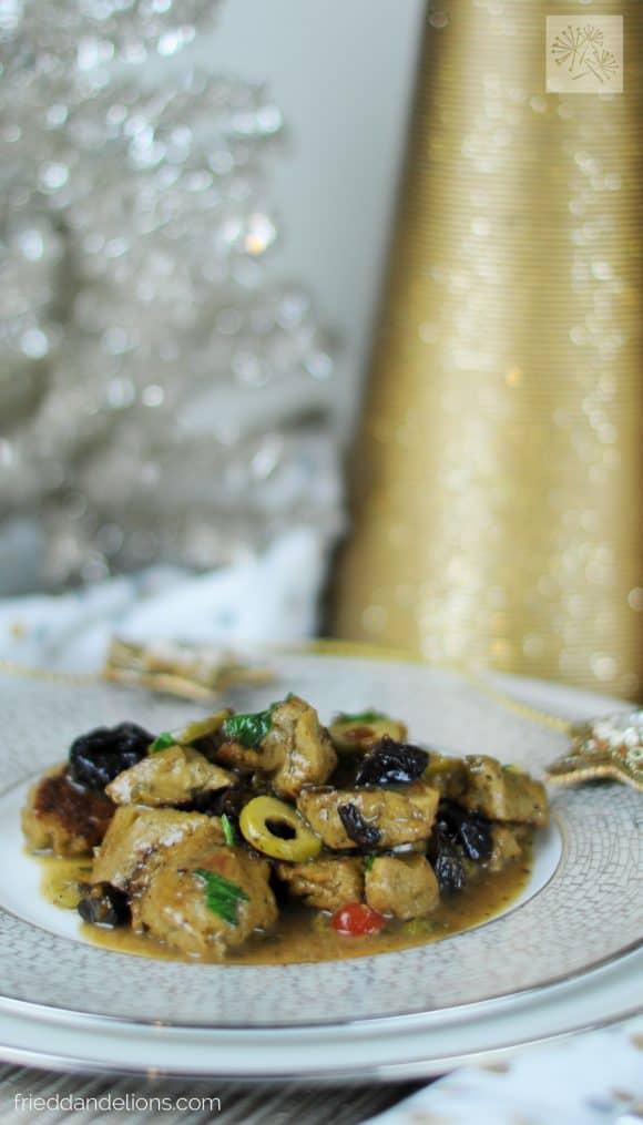 fried dandelions // seitan marbella