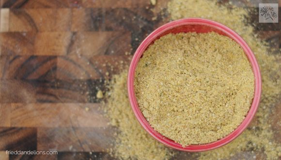 parma jonathan // fried dandelions